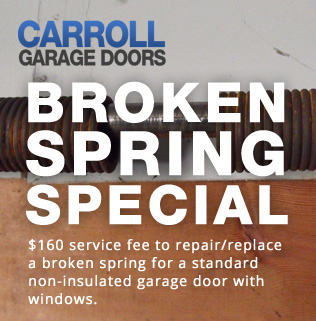 Garage Door Spring Repair in Fillmore CA