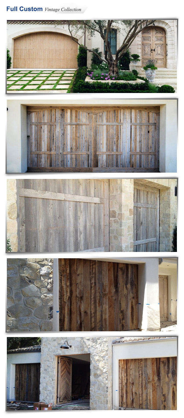 Ranch house doors carroll garage doors for Ranch house garage doors