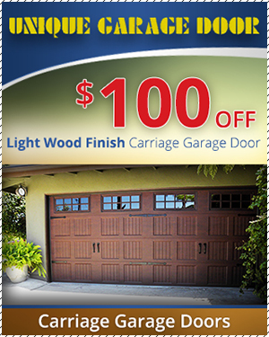 Garage Door Repair Special